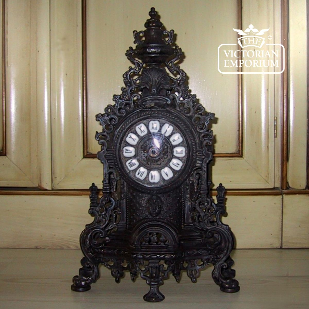 Black Brass Clock