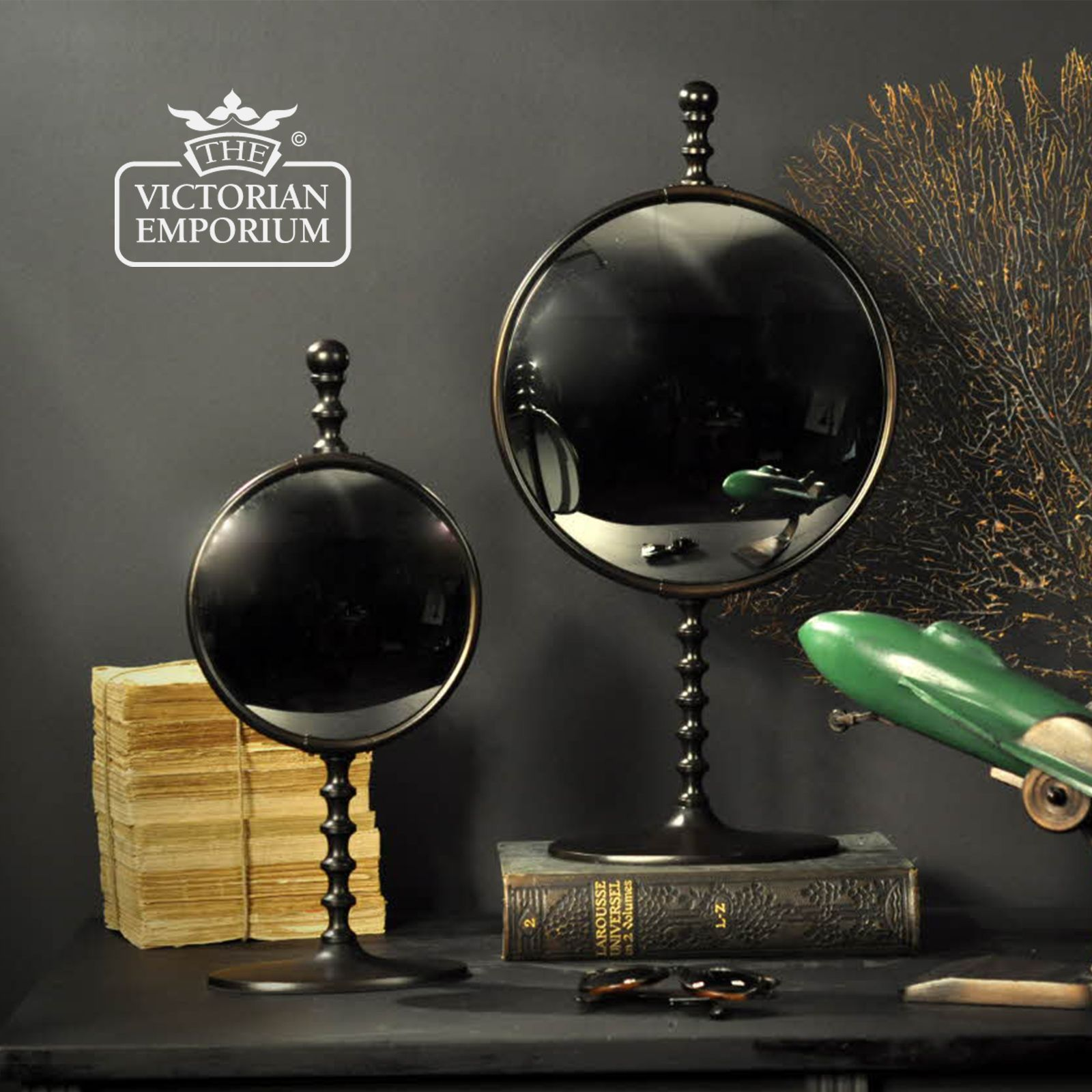 Convex Mirror On Stand