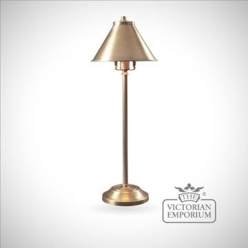 Provence stick lamp in Aged Brass
