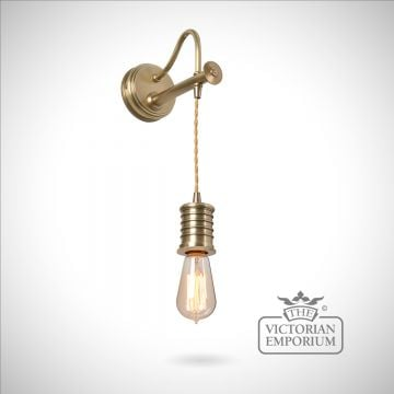 Douillet wall light in Aged Brass