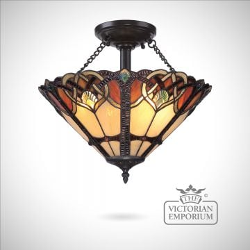 Tiffany Cambridge Semi Flush
