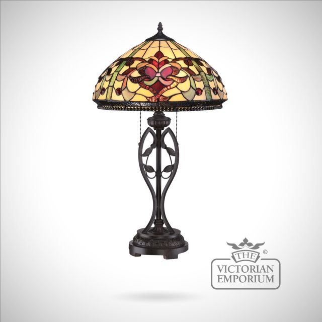 Tiffany Kings Point Table Lamp