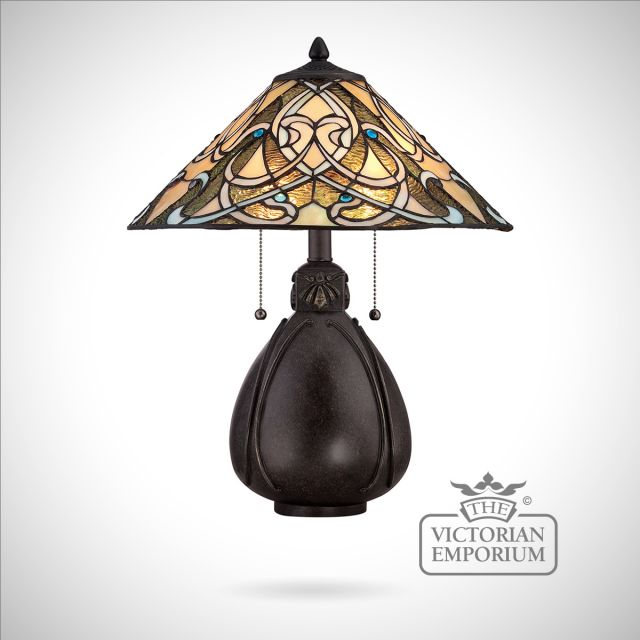 Tiffany India Table Lamp