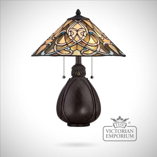 Tiffany India Table Lamp