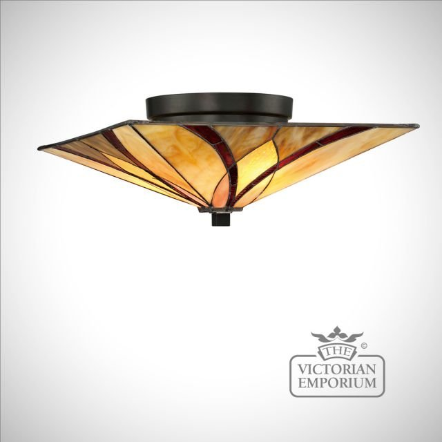 Tiffany Ashville Flush ceiling light