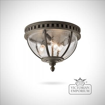 Hallaron ceiling flush mount light