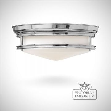 Bathroom Flush mount light in chrome