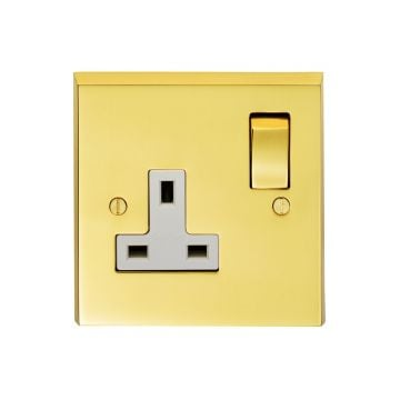 1 Gang 10amp 2way Switch in Brass, Chrome or Satin chrome