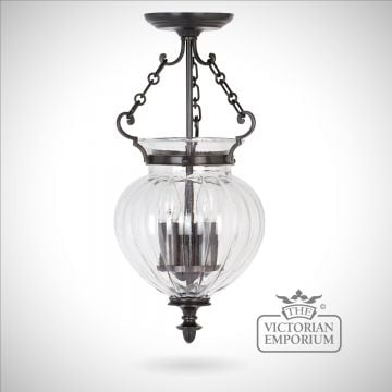 Classic glass lantern - medium
