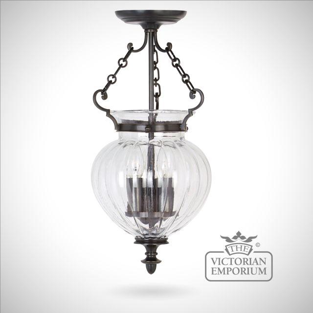 Classic glass lantern - small