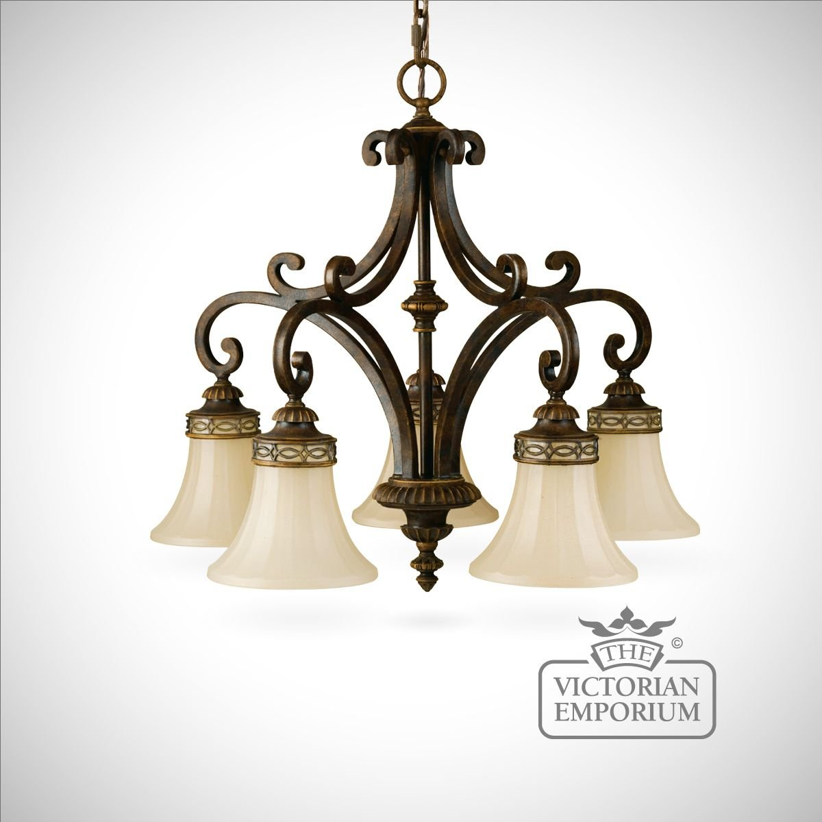 Walnut chandelier with down lights ceiling chandeliers - Chandelier ceiling lamp ...