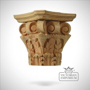 Corinthian Column Capital four sided