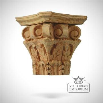 Corinthian Column Capital four sided