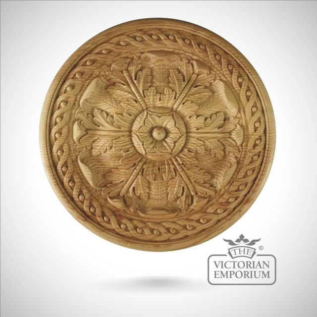 Decorative wooden ceiling rose
