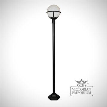 Globe lamp post