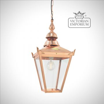 Chelsea Copper Chain Lantern