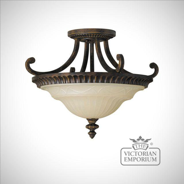 Semi Flush Mount light