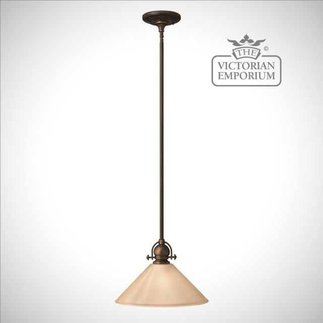Simple classic pendant light