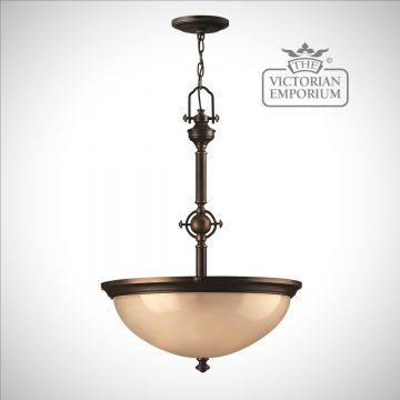 Simple classic uplight pendant