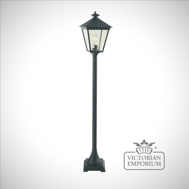 Turin Pillar Lantern - Black