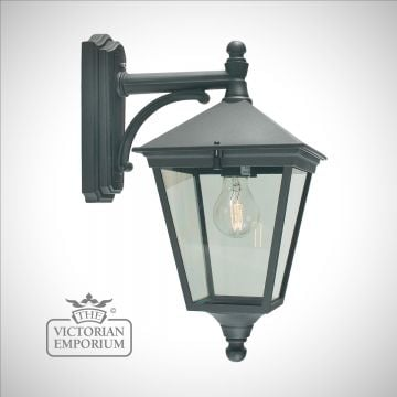 Turin Wall Lantern - Black