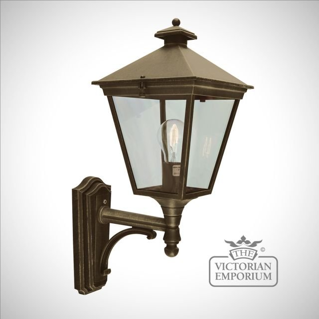 Turin Up Wall Lantern - Gold