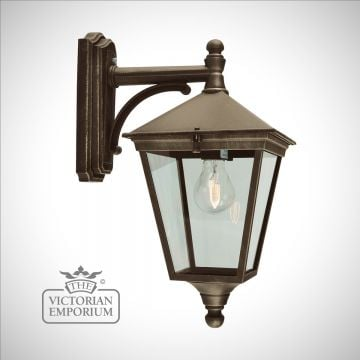 outdoor victorian lighting. turin wall lantern - gold outdoor victorian lighting a