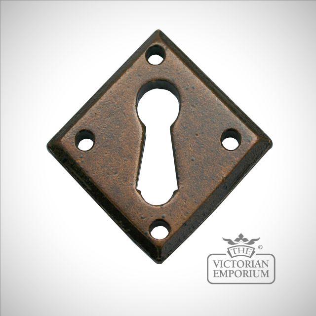 Bronze escutcheon