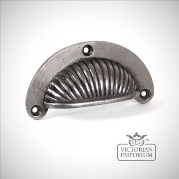 Pewter Sunrise drawer pull