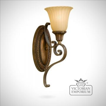 Gold and Bronze wall sconce