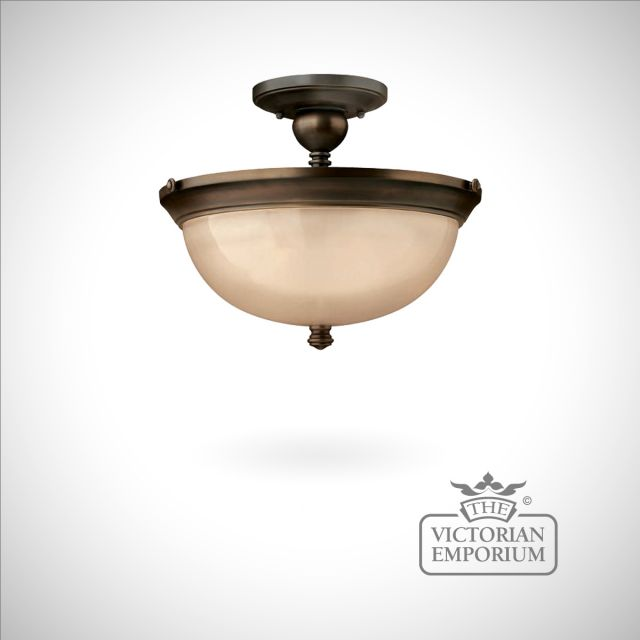 Olde bronze ceiling light