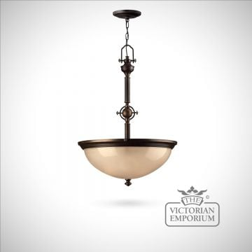 Olde bronze pendant light