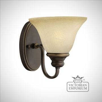 Olde bronze wall sconce - traditional wall light