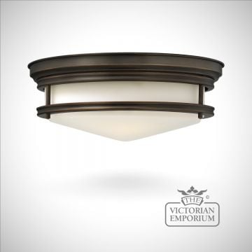 Flush mount light available in 4 finishes