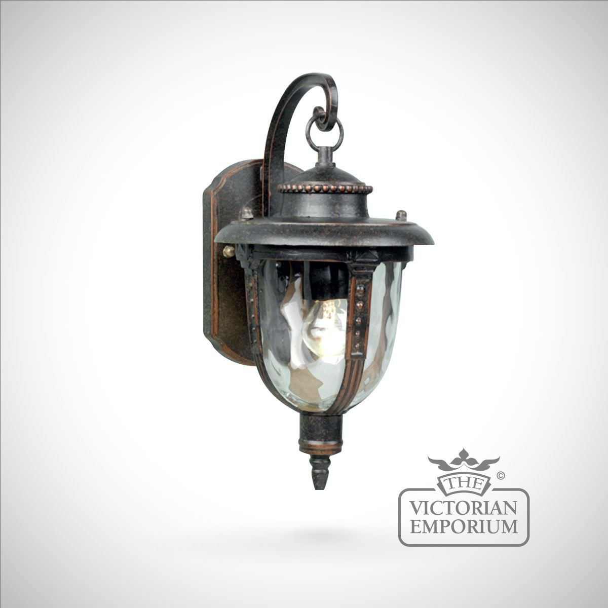 Decorative Outside Wall Lights : Decorative wall lantern - small - Outdoor Wall Lights