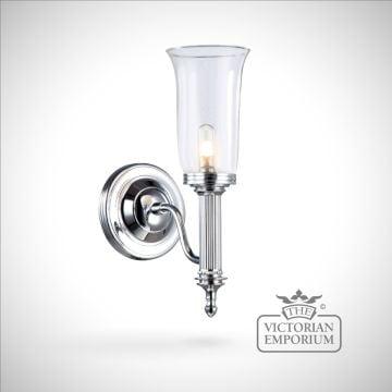 Bathroom wall light - Carol 2 in polished chrome