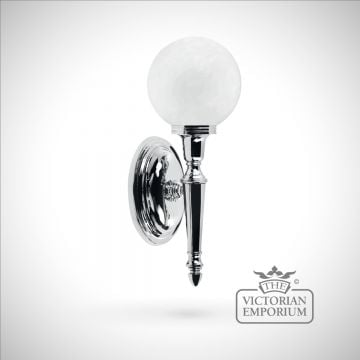 Bathroom wall light - Ryde 4  in polished chrome