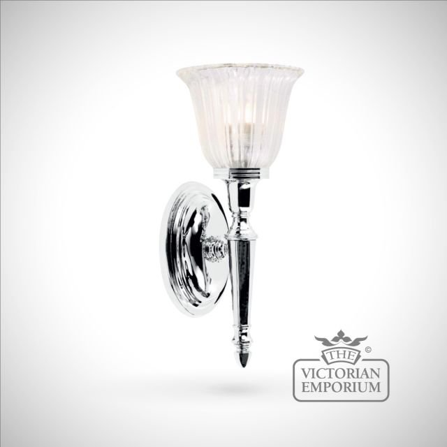 Bathroom wall light - Ryde 1 in polished chrome