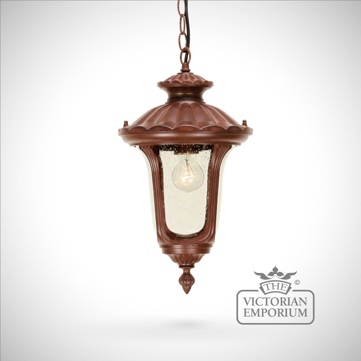 Small Chain Lantern Exterior Ceiling Lights