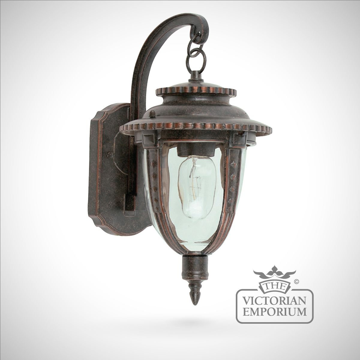 External Lantern Wall Lights : Decorative wall lantern - medium Outdoor Wall Lights