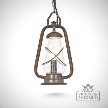 Miners chain lantern