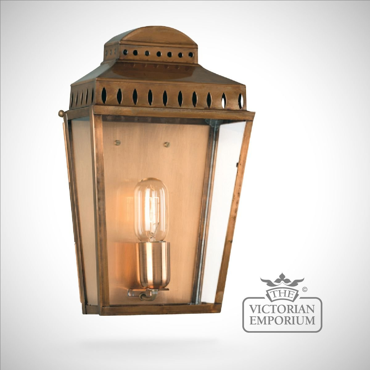 Mansion House Wall Lantern Brass Outdoor Wall Lights