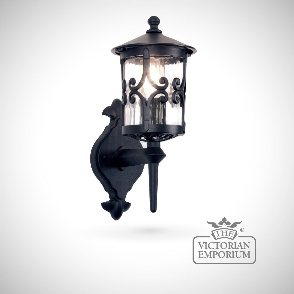 Large Decorative Wall Lights : Hereford wall lantern - large Outdoor Wall Lights