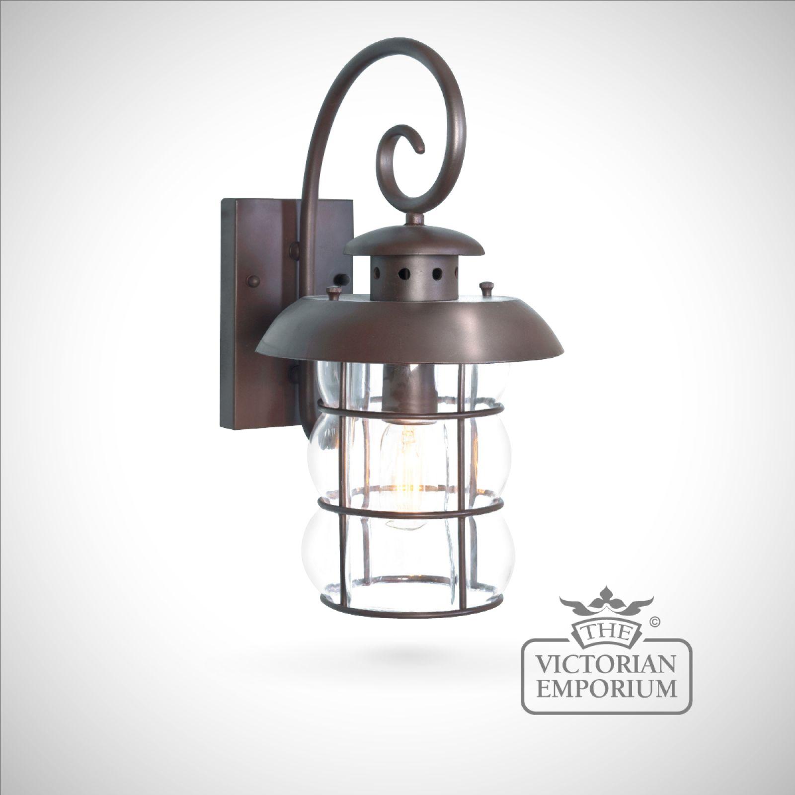 Wall Lamp Lantern : Bibury wall lantern Outdoor Wall Lights