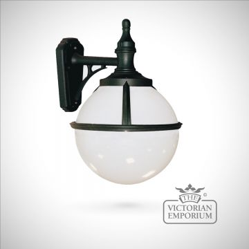 Globe wall lantern
