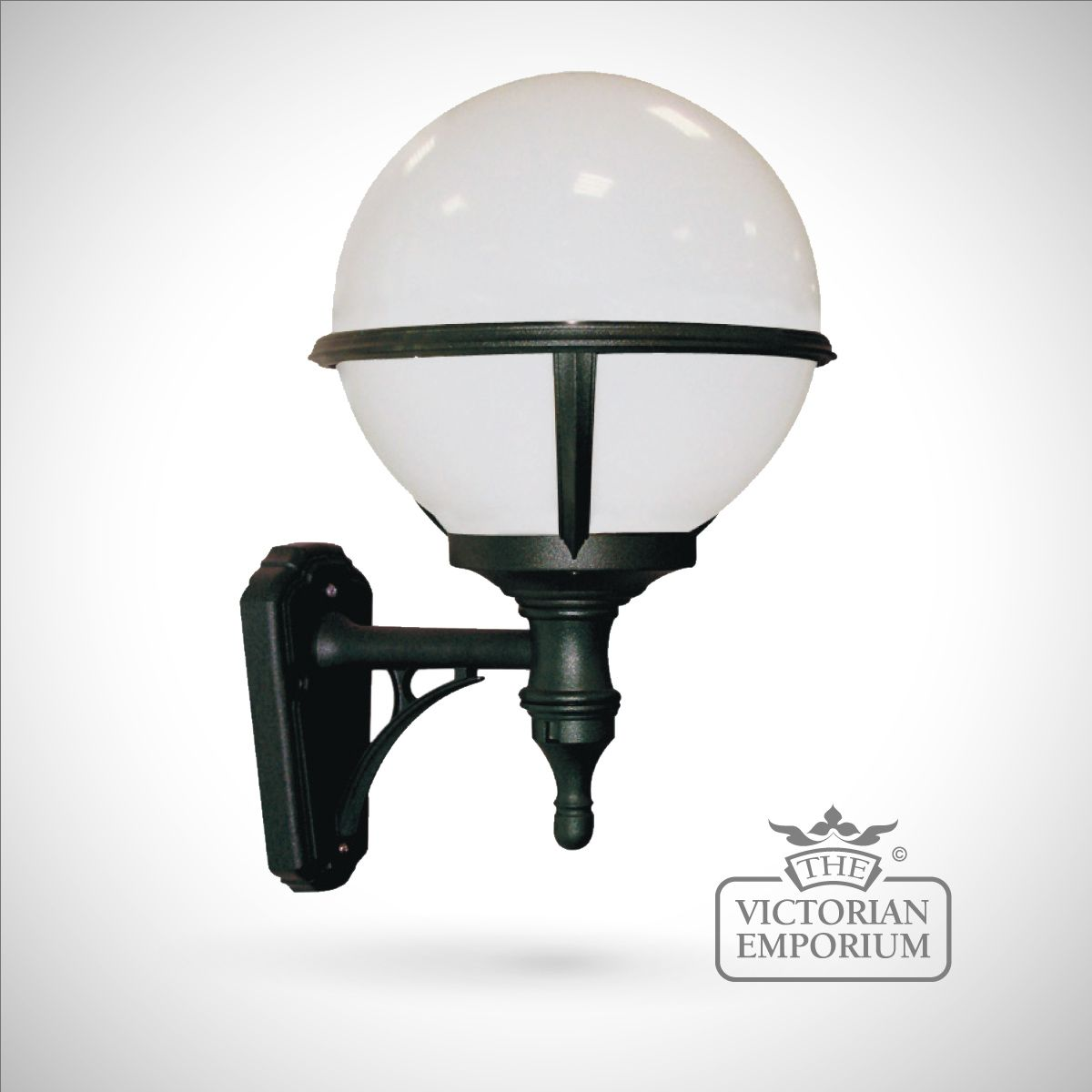 Globe External Wall Lights : Globe wall lantern Outdoor Wall Lights