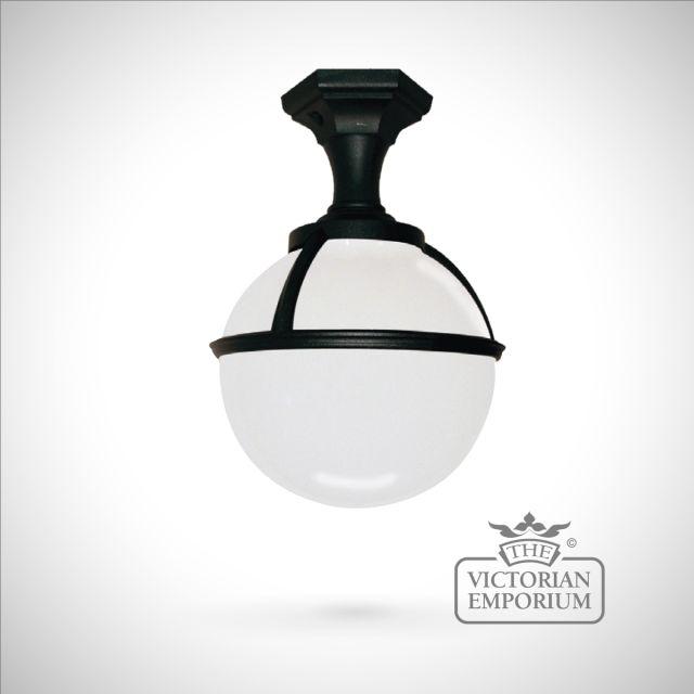 Globe pedestal/porch lantern