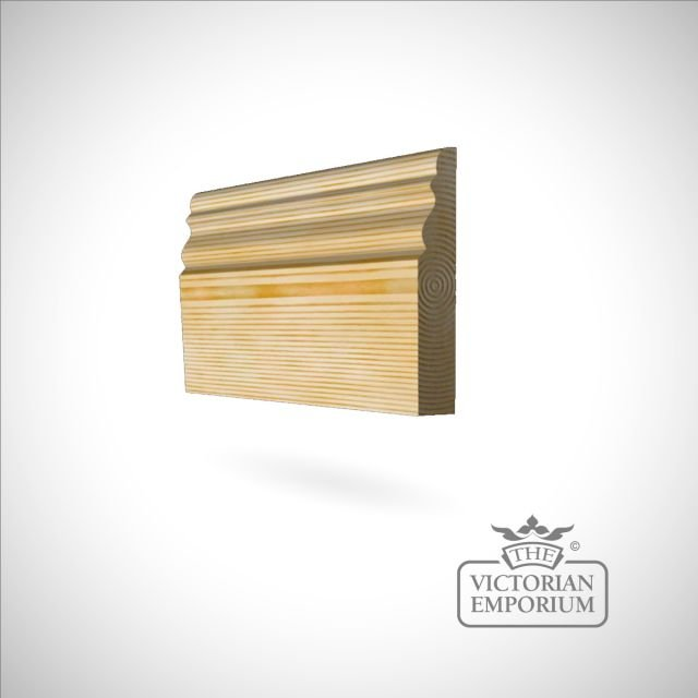 Skirting 117 x 21mm - small Victorian skirting