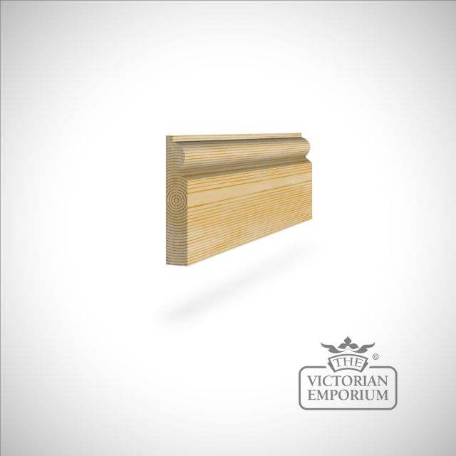 Skirting 117 x 21mm - for smaller rooms