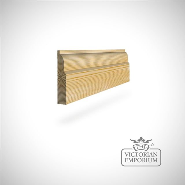 Skirting 117 x 21mm - simple skirting profile